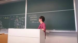 黒板 あつ